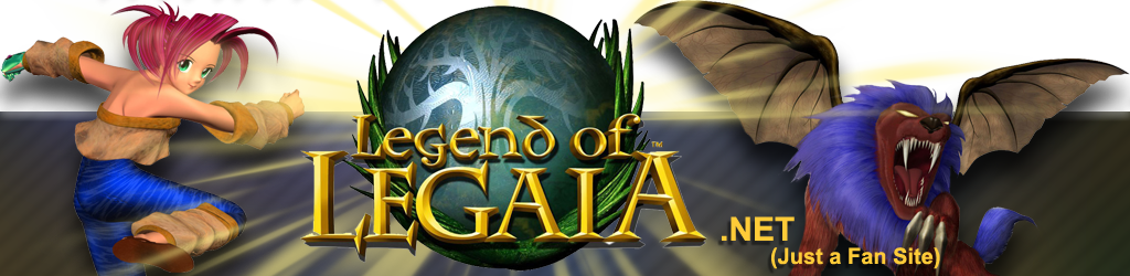Logo for Legend of Legaia homepage